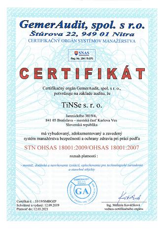 Certifikát_18001_Tinse.sk
